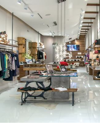 Miro's Boutique interior