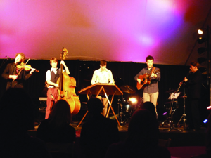 Sixth Floor Trio and guest musicians perform at GardenMusic Festival