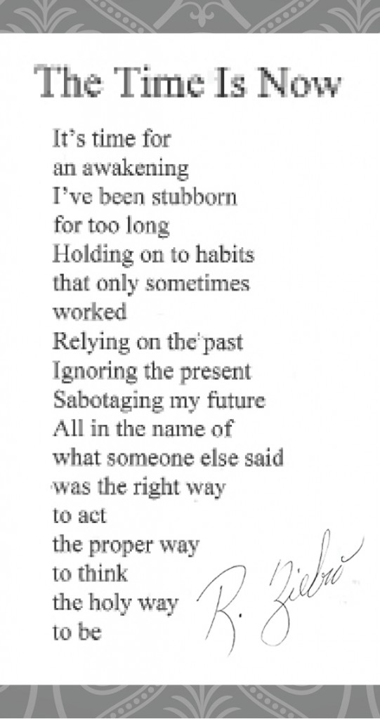 Poems- its time now