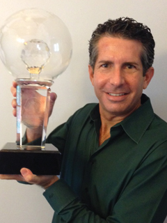 Anthony Askowitz with Circle of Legends trophy