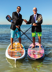 Paddle World - Owners on Boards