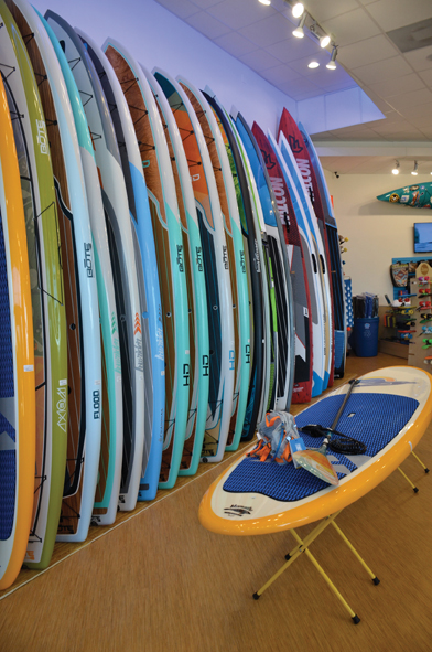 Paddle World - Wall Display