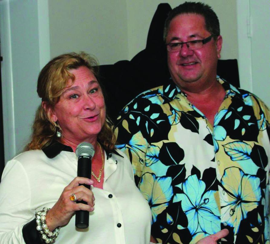 Pamela Moseley Mayers and Kent Crook