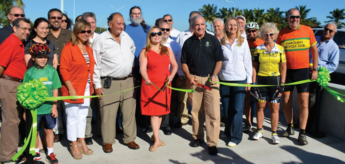 RIBBON-CUTTING AT BEAR CUT BRIDGE