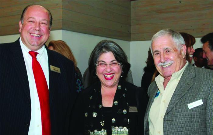 Commissioner Daniella Levine Cava and Ernie Sochin
