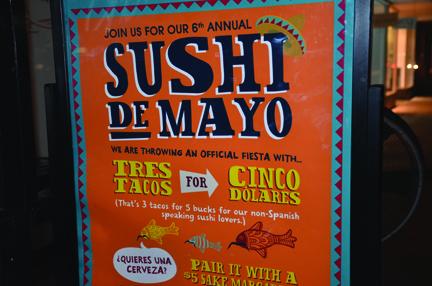 Sushi De Mayo