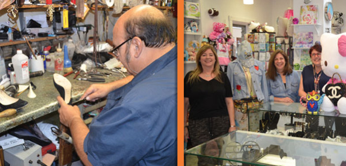 FIFTY AND FIFTEEN – Two Businesses Recognized: Gem Shoe Repair & Elements of Time