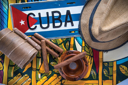 Travel-To-Cuba-Concept-Hat