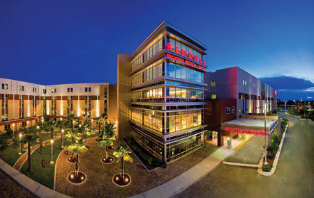 Kendall-Regional-MEdical-Center-Night-Photo