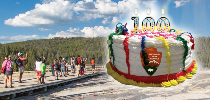 THE NATIONAL PARK SERVICE celebrates its 100th birthday on August 25, 2016.