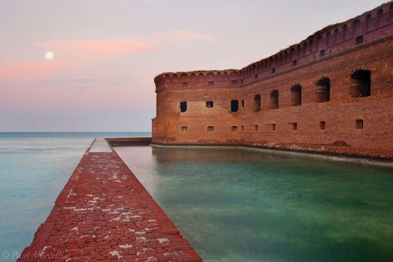 Fort-Jefferson,-Dry-Tortugas-National-Park,-Florida