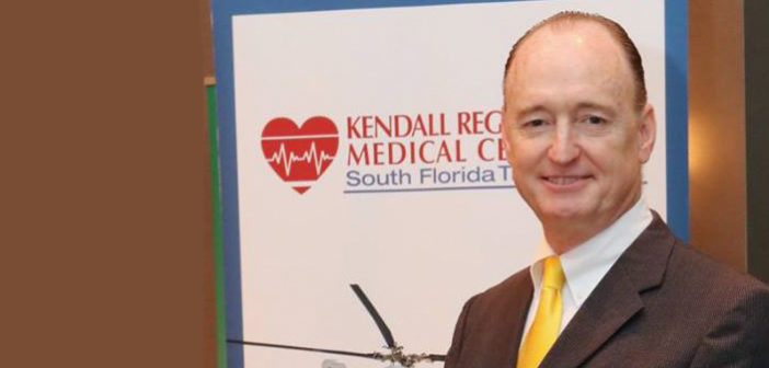 PETER JUDE MARKS 25 YEARS WITH THE KENDALL REGIONAL MEDICAL CENTER