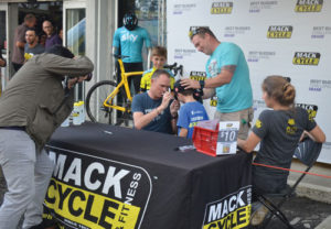 Tour De France Champion Chris Froome And Best Buddies