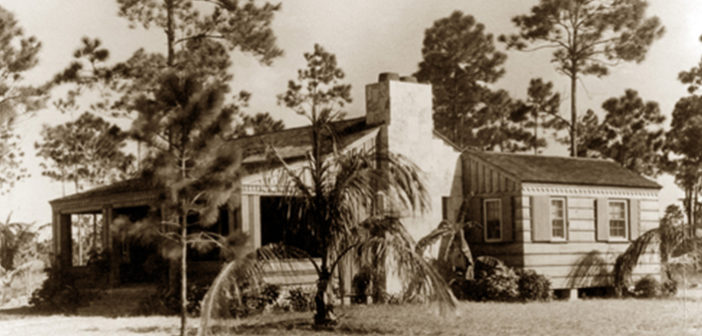 GIVING THE DOC THOMAS HOUSE ITS HISTORIC DUE